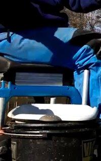 bricolage materiel de peche-porte bassine
