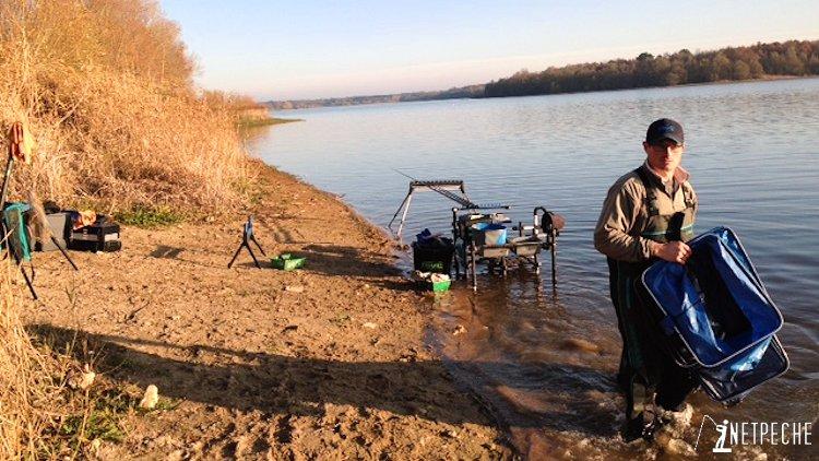 parcours competition rillé pêche de gardons