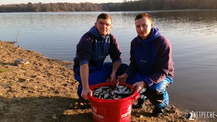 pêche de gardons competition parcours rille