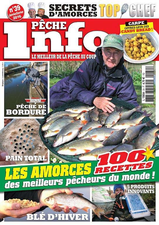 infopeche numéro 39 magazine pêche au coup