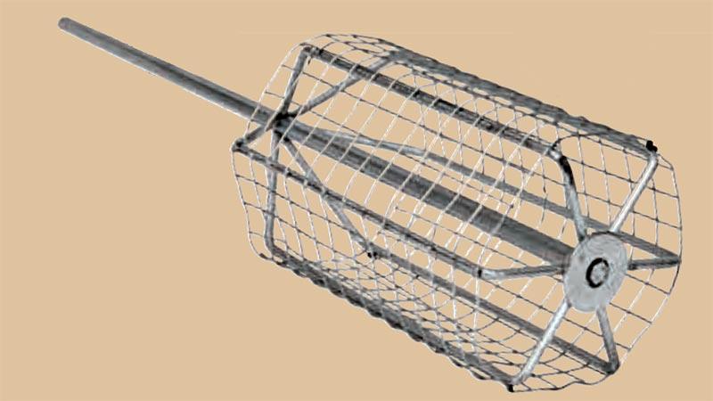 matériel de pêche au coup batteur amorce sensas grillagé