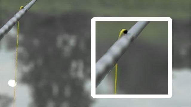 matériel de pêche au coup exemple perle stop elastique creux reserve puissance carpe au coup