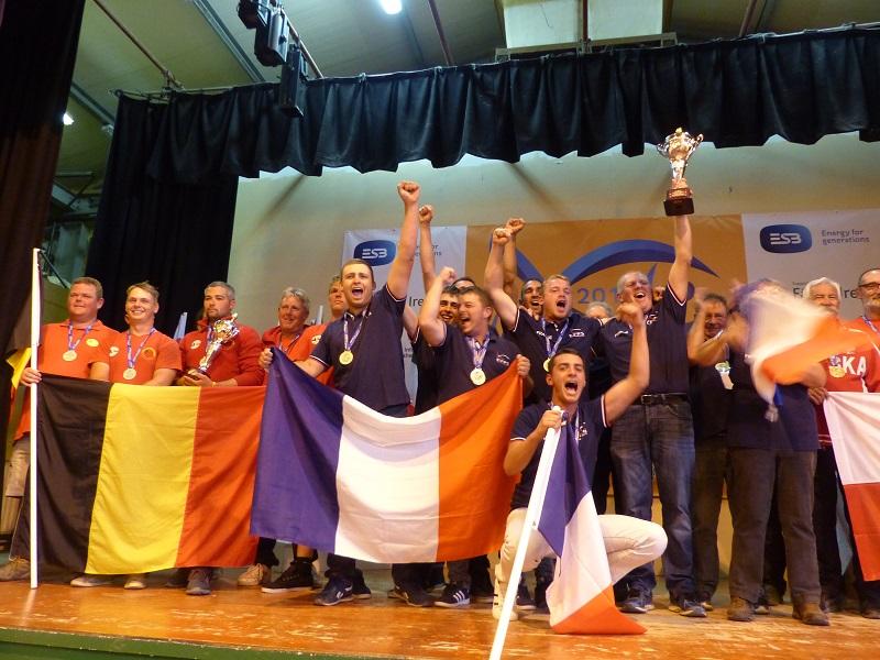 équipe de France u25 pêche au coup championne du monde