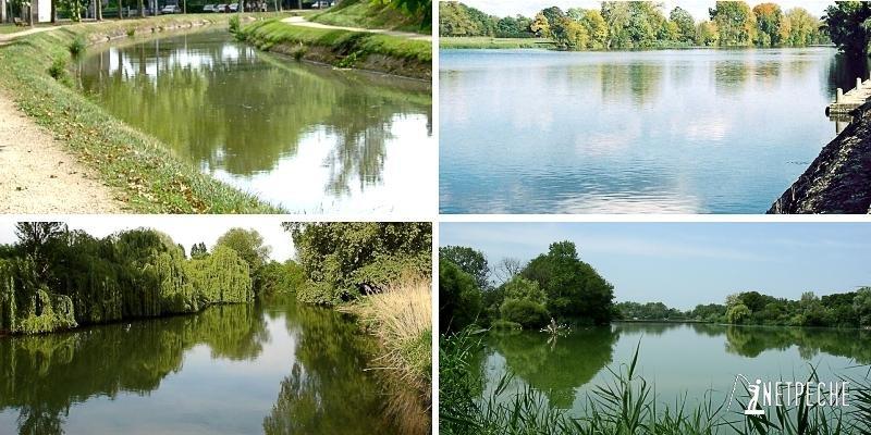 étang canal rivière fleuve