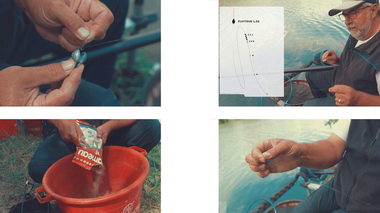 exemples pêche en canal avec diego da silva screenshot video magazine netpeche