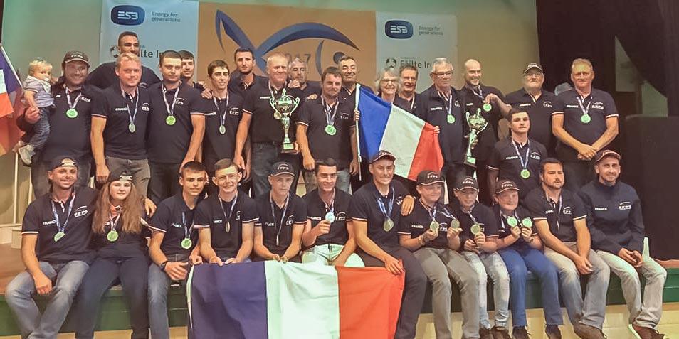 équipes de France u15 u20 et u25 pêche au coup 2017