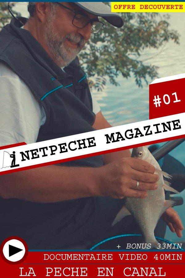 Netpeche Magazine pêche au coup en canal grand gabarit avec diego da silva rameau garbolino documentaire vidéo