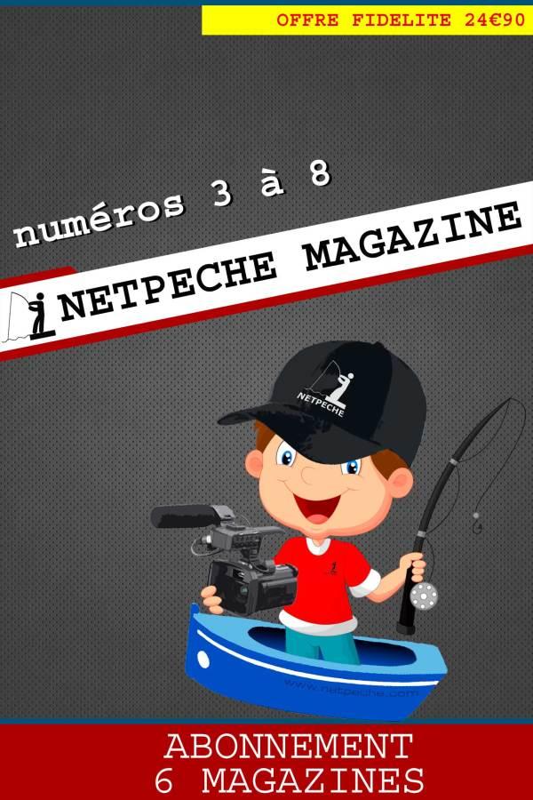 abonnement 6 n uméros netpeche magazine du 3 au 8