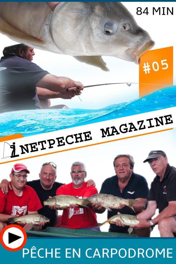 affiche netpeche magazine 5 carpodrome la pêche de la carpe au coup étang milo gérard trinquier