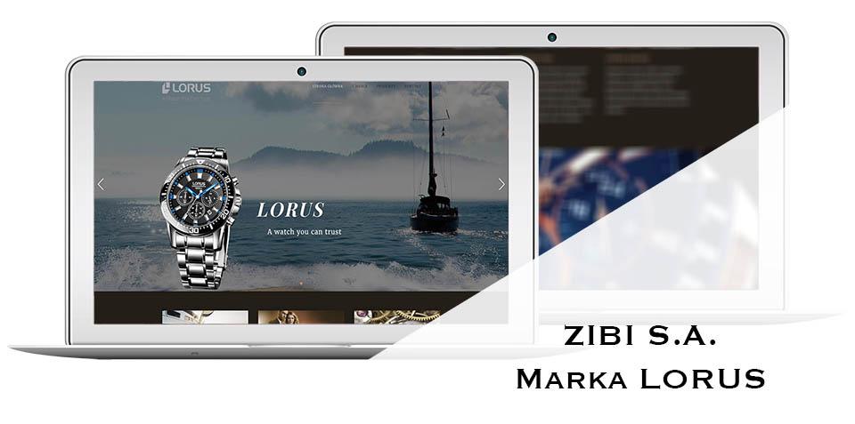 strona internetowa lorus