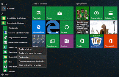 inicio windows 10