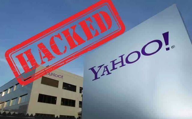 yahoo is hacked