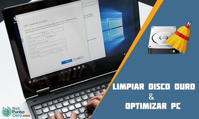 optimizar el disco duro de PC