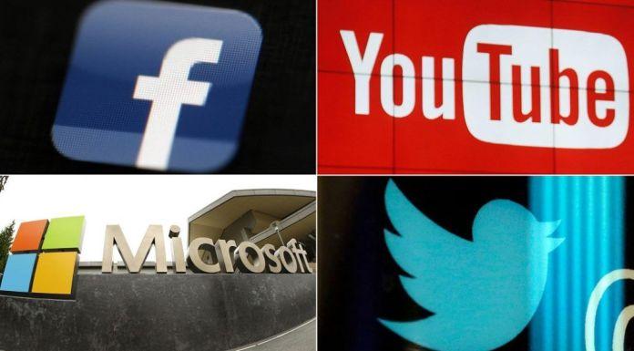 facebook Microsoft Twitter YouTube