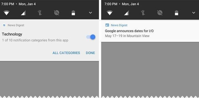 notificaciones android o