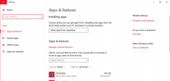 bloquear terceros Windows 10 Creators Update