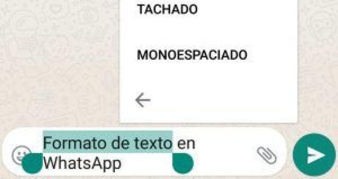 cursiva y tachado en whatsapp
