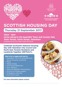 Scottish Housing Day Poster