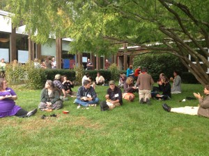 Transitioners Enjoy Lunch at the Oct 5 Gathering