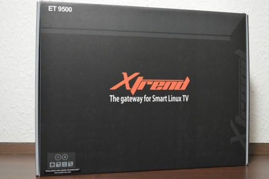 Xtrend ET9500 Verpackung