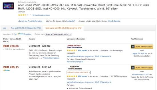Amazon Betrug