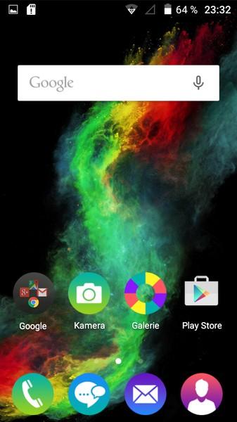 Wiko Rainbow Lite Home-Screen