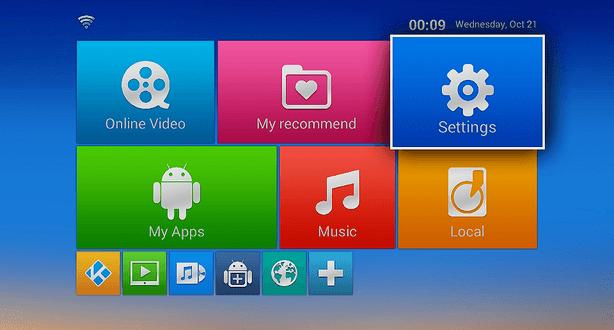 MXV-S805 Startseite