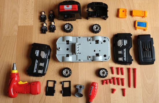 SWAT-Truck Lieferumfang