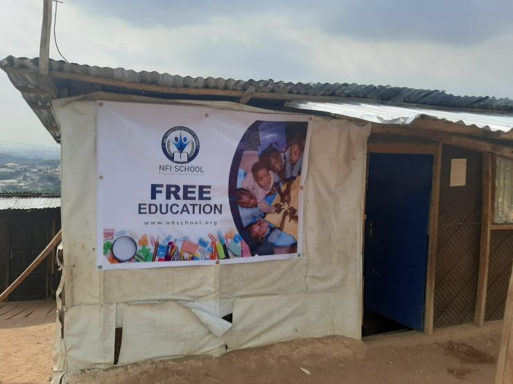 Nigerian man builds free school to educate less privileged kids (See Photos) 2