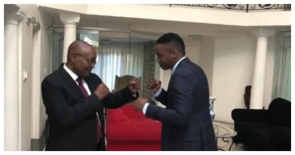 "Duduzane Zuma reacts to load-shedding woes: ""My father warned you"""