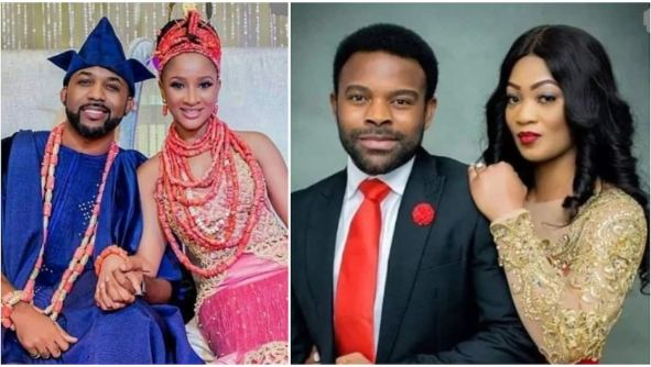 Reactions as rumour of Banky W's alleged affair with Gabriel Afolayan's wife surface online