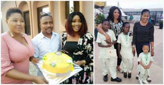 Segun Ogungbe's family