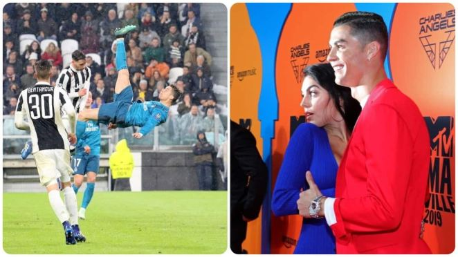 Cristiano Ronaldo: Making love with Georgina is better than any goal