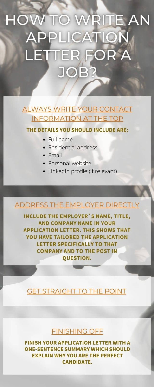 How to write an application letter for a job? (30 guide) ▷ Legit.ng