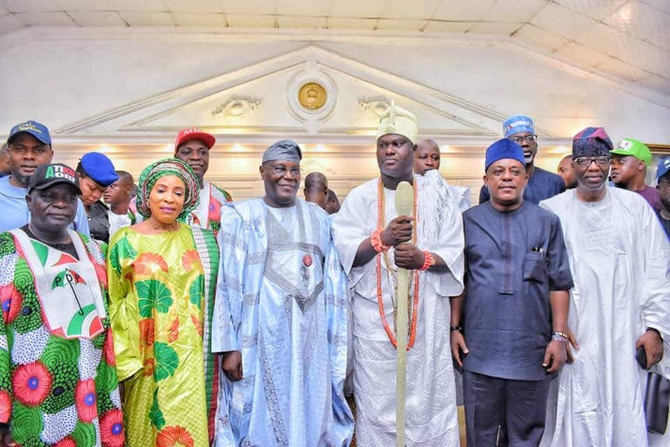 PHOTOS: Atiku takes campaign to Ile-Ife