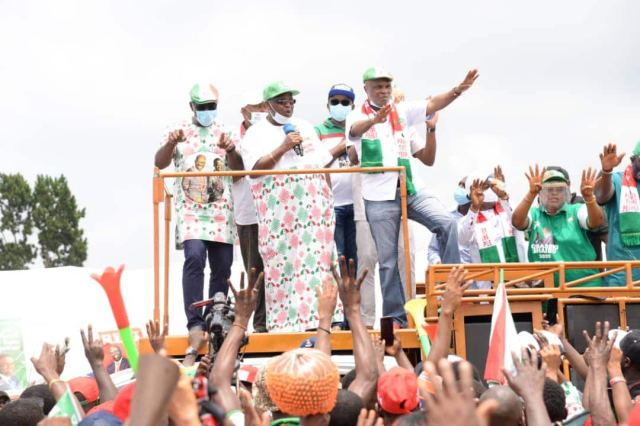 Edo election: PDP ward-to-ward campaign unsettles APC