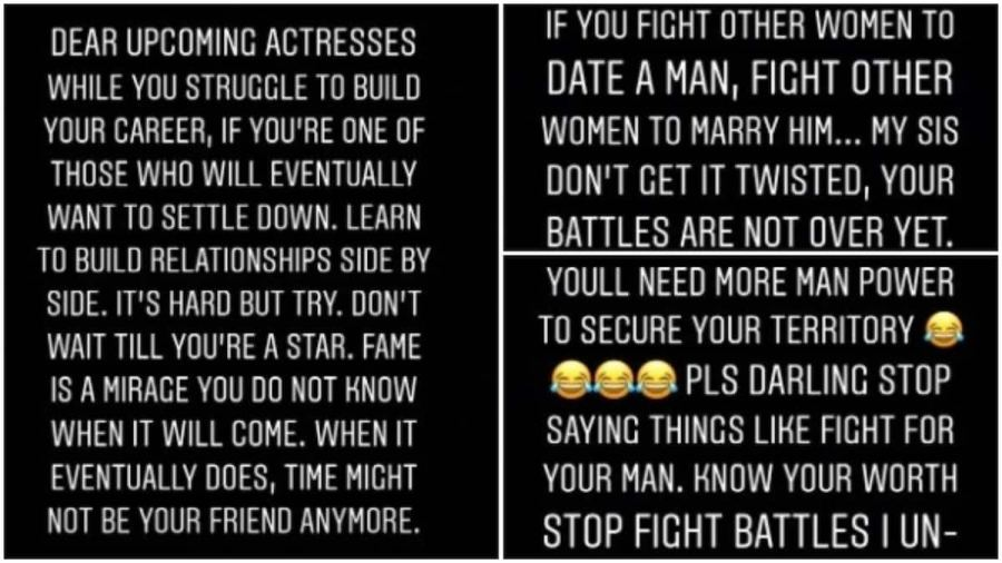 Actress Ruth Kadiri Advices Female Celebrities Who Fight Other women Because Of Men