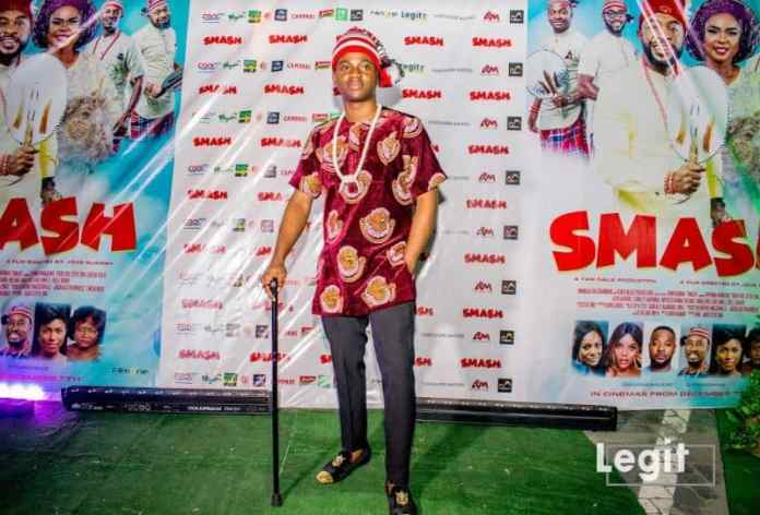 Alibaba, Toyin Abraham, Korede Bello attend movie premiere in regal traditional attires