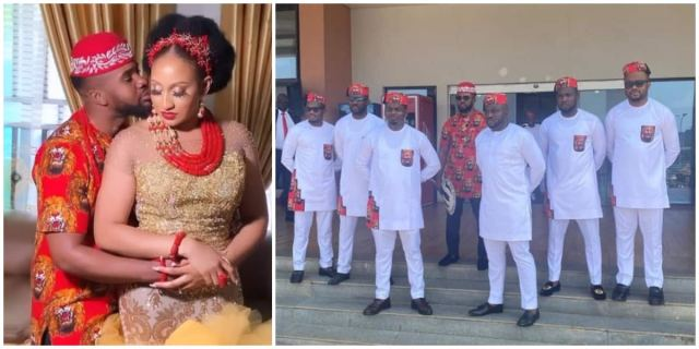 Nigerian Actor Williams Uchemba Weds Fiancée in Traditional Ceremony