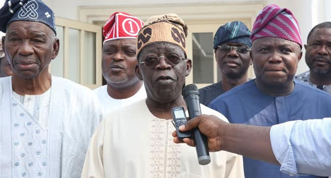 Image result for Tinubu APC RALLY