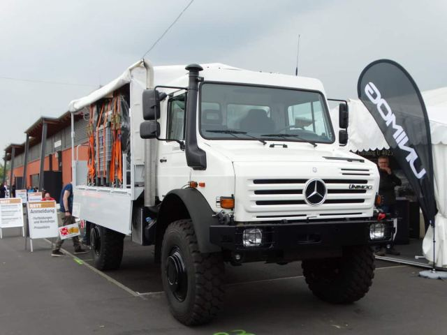 Unimog U5000 by Mercedes Benz.