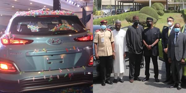 Solution to fuel scarcity: Joy as Nigeria's first locally assembled electric car unveiled