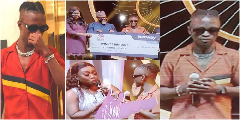BBNaija: Laycon and Ozo to receive N5m from bet company