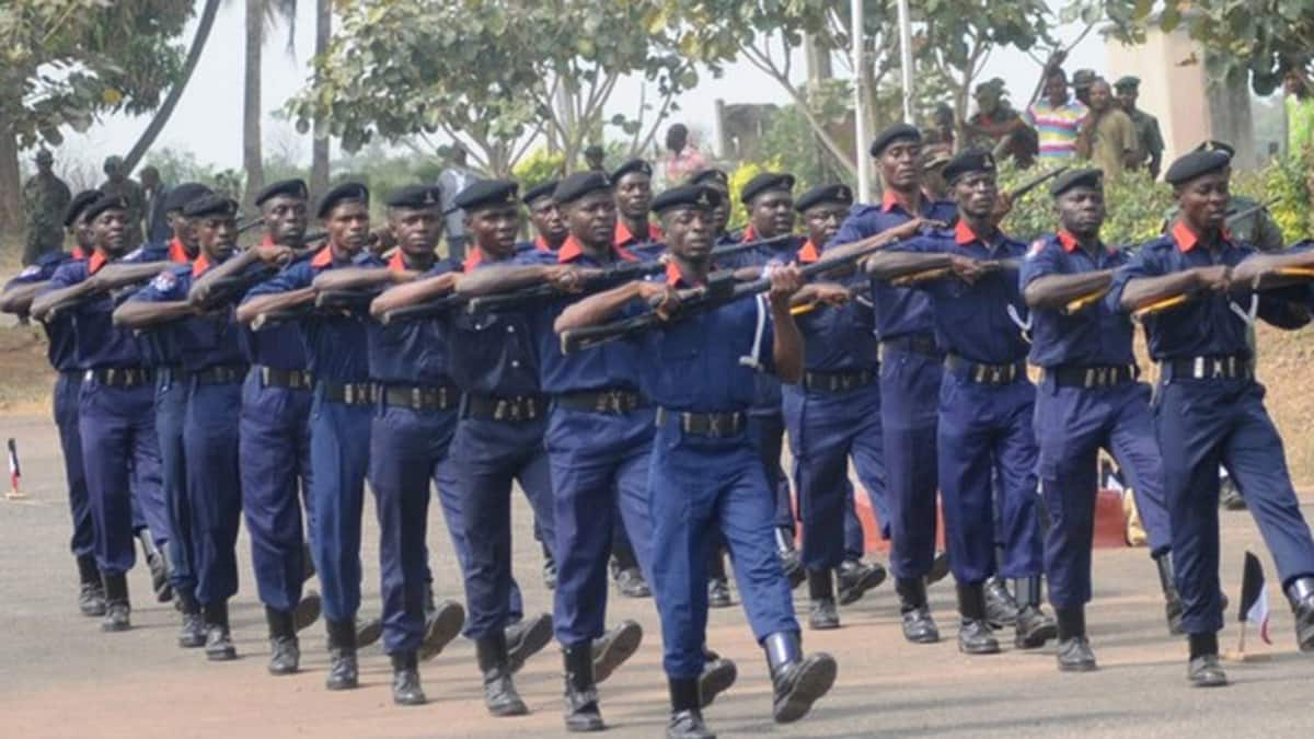 """Nigeria Security and Civil Defence Corps (NSCDC), Kaduna State Command, says it has deployed over 3,000 personnel to protect lives and property during the Eid-el-Kabir celebrations. The Commandant, Mr Babangida Dutsinma, stated this in a statement by the spokesman of the Corps, ASC Orndiir Terzungwe, on Wednesday in Kaduna. Dutsinma said: """"Ahead of the Eid-el-Kabir […]"""