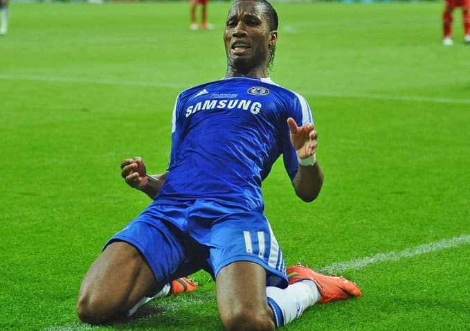 Didier Drogba: Erik Persson tattoos image of Chelsea legend on his leg