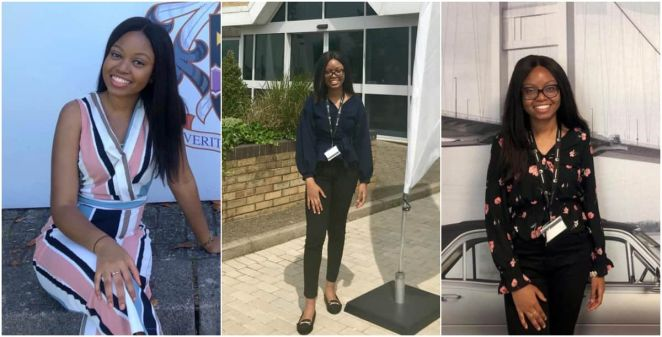 Demi Omoyele: Meet lady who graduated with first class from top UK school