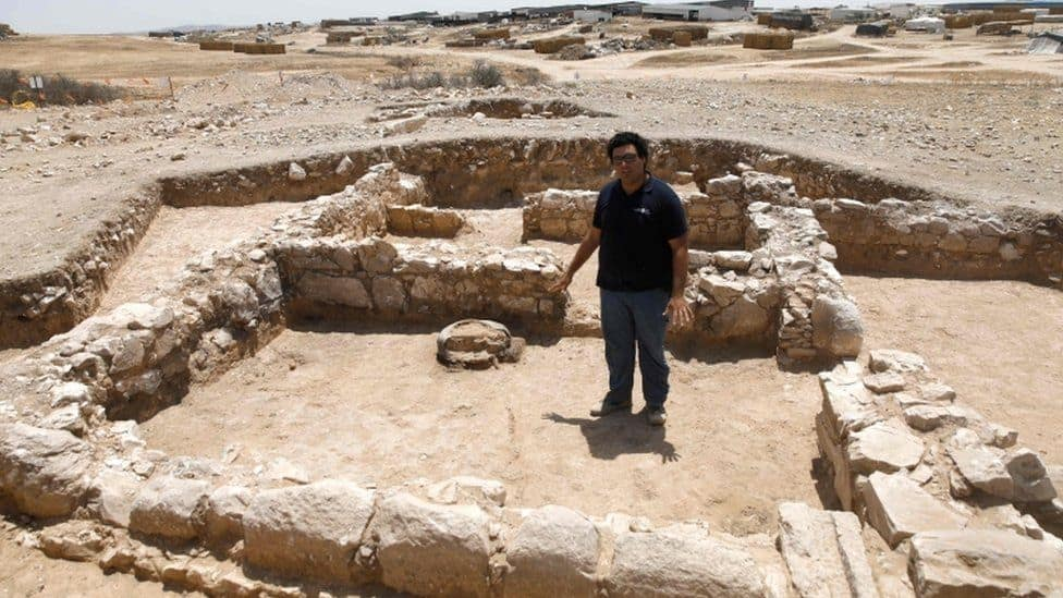 e5d6a2ae939a7d47 - Israeli archaeologists uncover 1,500-year-old Byzantine church
