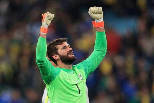 Alisson Becker wins FIFA best goalkeeper as Veenendaal claims women