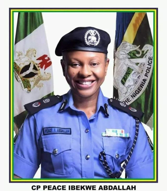 Smiling police woman gets promotion as assistant inspector general of police (photos)