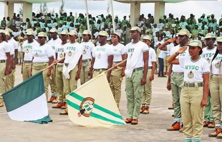 The National Youth Service Corps (nysc) On Wednesday, Donated Over 150 Hand Sanitisers To The Ebonyi Government In Its Bid To Help To Prevent The Coronavirus Spread In The State. Mrs Ann Ibe, The Ny